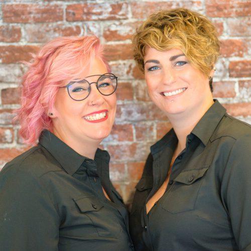 Anniek en Ilse Annieks Hairdesign